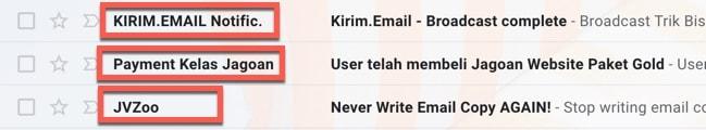 belajar list building email